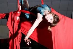 aerialist Keely Sills